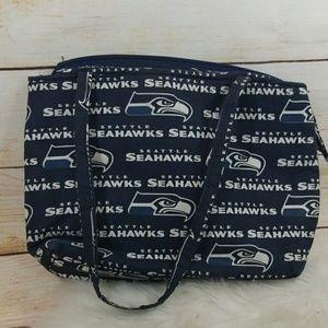 Handbags - Like new NFL Seattle Seahawks cloth handbag